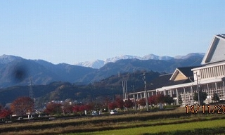飛騨の山並み