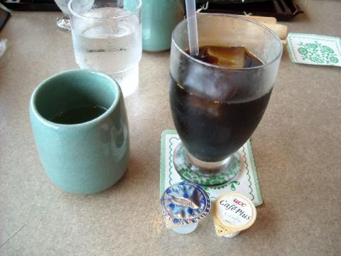 かつ一・アイスコーヒー