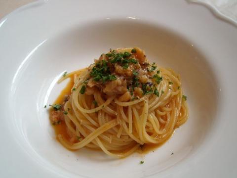 イル リポーゾ・魚介ミンチ煮込みオイルベース