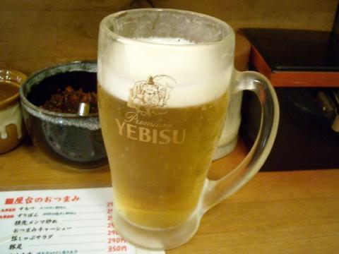 博多人情・生ビール