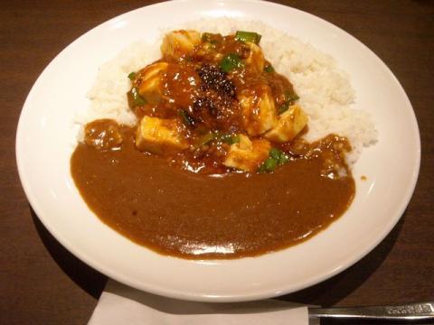 coco壱番屋・麻婆豆腐カレー