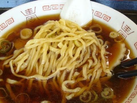 永井食堂・ラーメン 麺