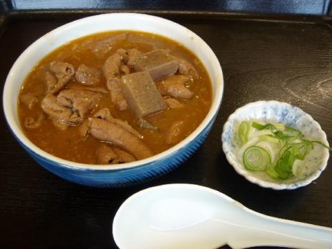 永井食堂・もつ煮1