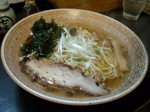 豊・和風白醤油拉麺