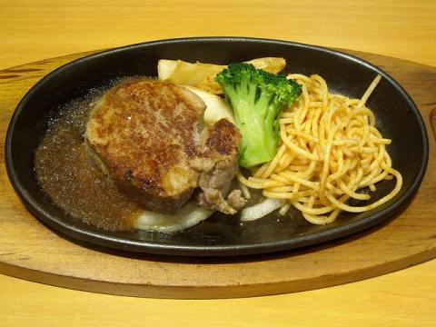ステーキ宮新潟県庁前店・ヒレステーキランチ