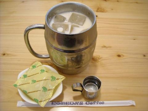 コメダ珈琲店・たっぷりミルクコーヒー