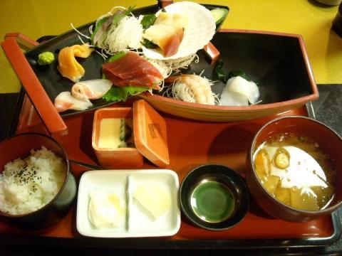 日本海・刺身御膳