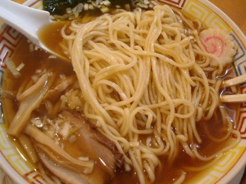 GOGO宝来軒・淡麗煮干中華ソバ 麺