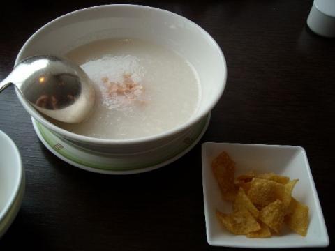 桃季・香港粥