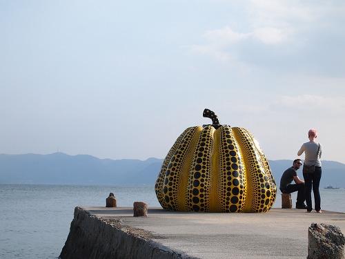 直島 かぼちゃ (9)