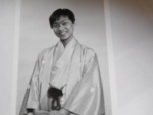 25年前のプロフィール写真