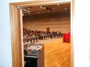 北海道情報大学の学生たち