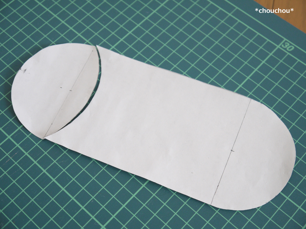 ミッフィー 型紙