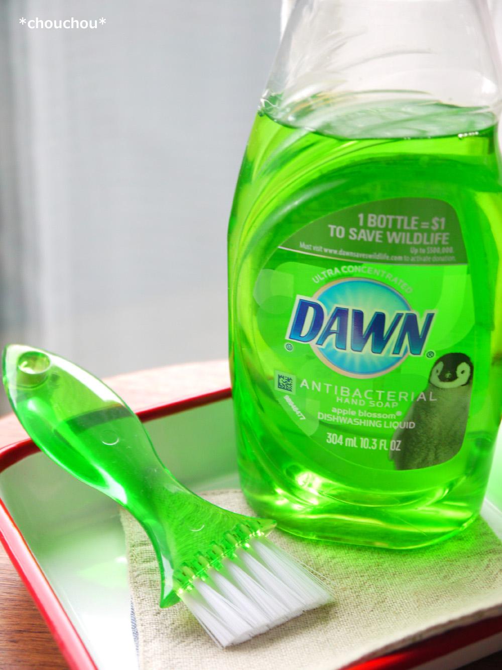 お弁当ブラシ 洗剤