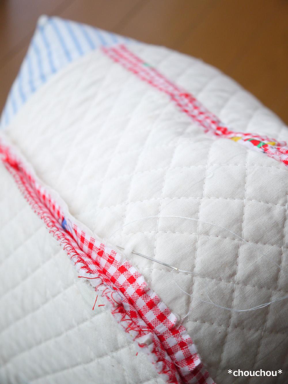 キルティング 縫い代