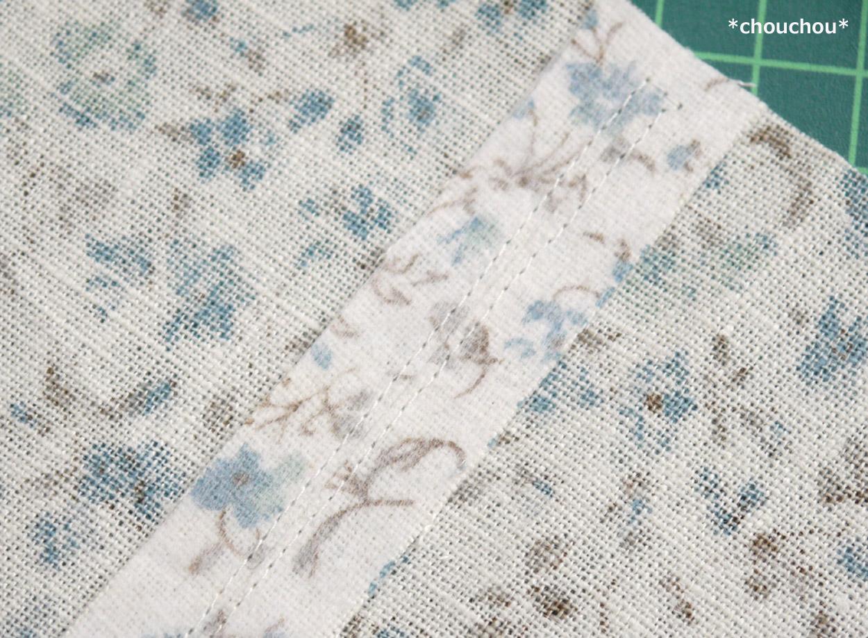 花柄 縫い代