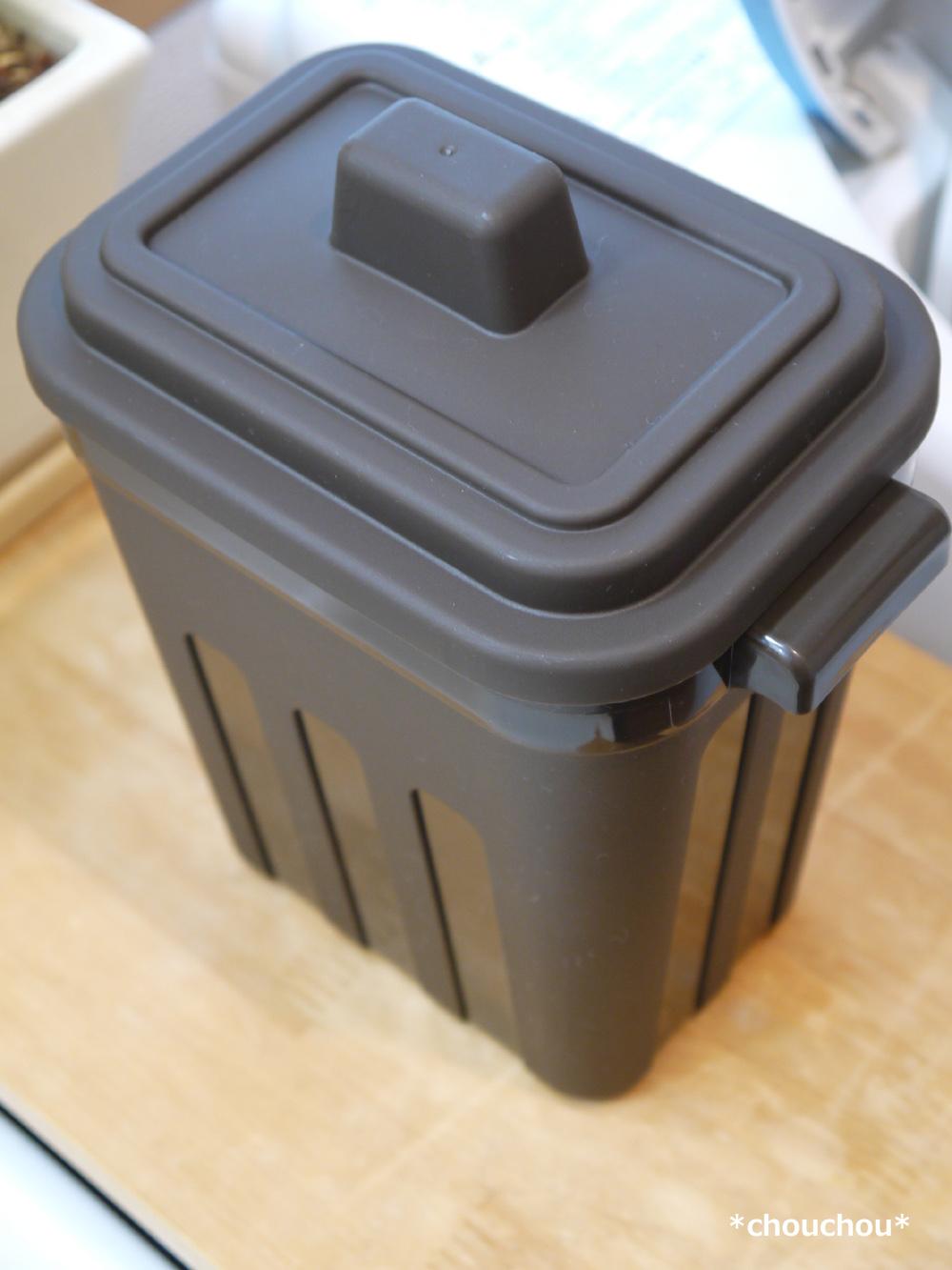 洗面所 ゴミ箱 こげ茶