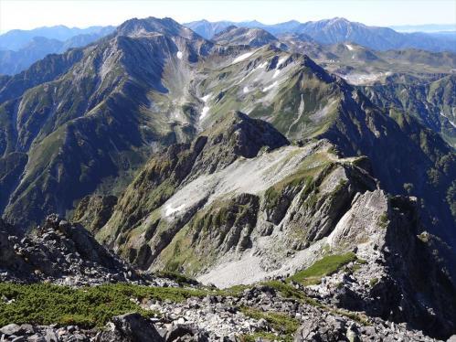 立山と北アルプスの名峰