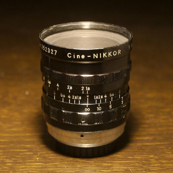 Nikon Cine Nikkor 25mm f1.8