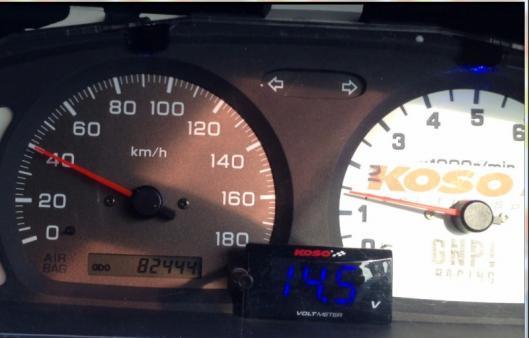 1・40km=1400rpm