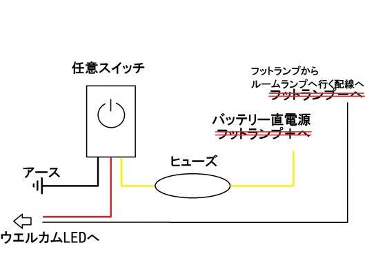 ウエルカム配線図