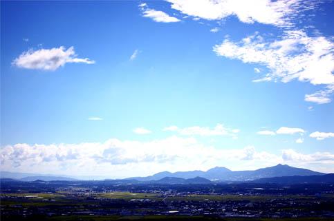不動岩からの眺め