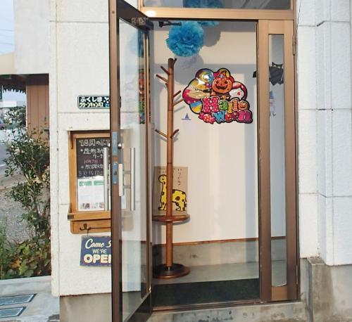 ハロウィン玄関