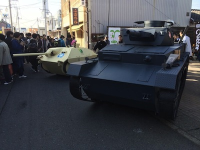 4号戦車D型とヘッツァーのツーショット