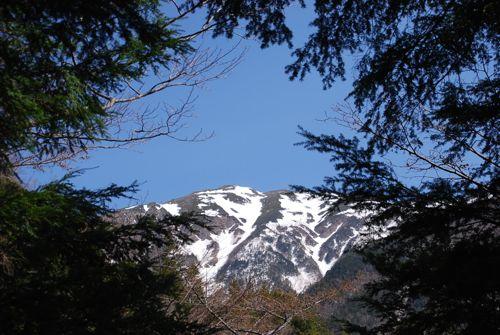 森フレーム聖岳