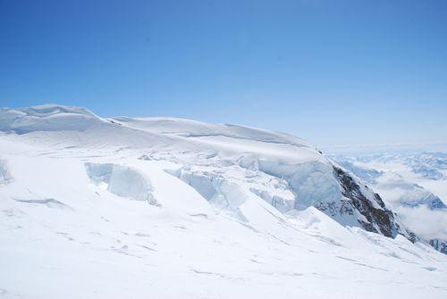 4ベルクシュルンド氷河の始まり
