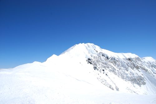 4頂上へ続く最後の稜線