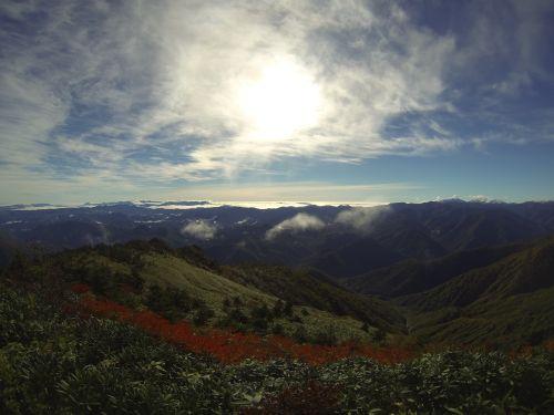 3三岩岳山頂