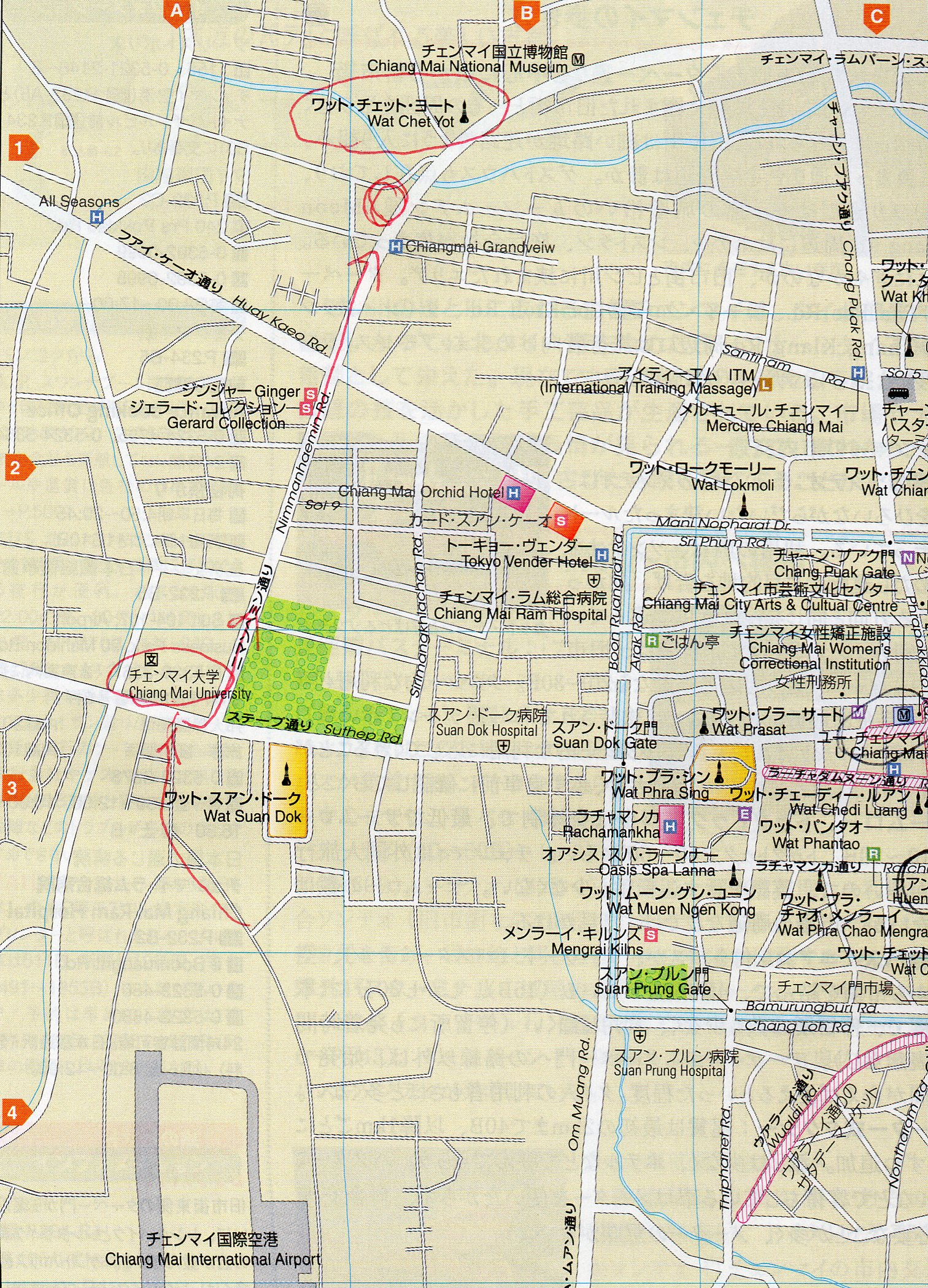 チェンマイ地図022