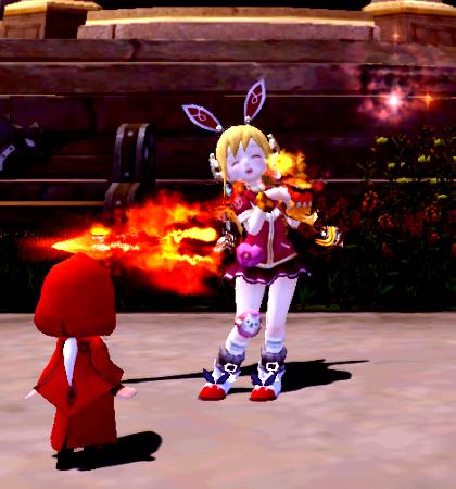 炎の武器アバ