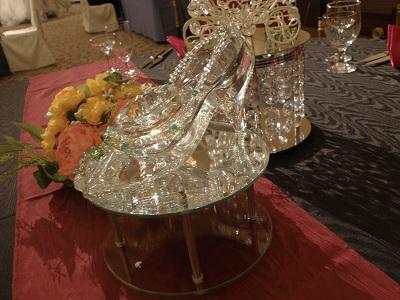 卓上ガラスの靴