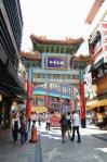 中華街の門1