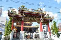 中華街の関帝廟全景