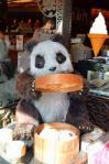 中華街のパンダ