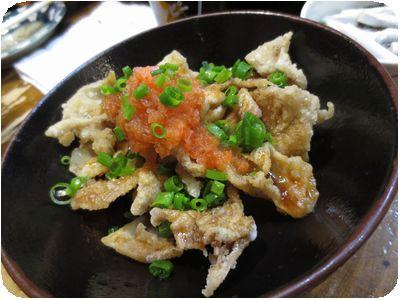 鶏皮ポン酢