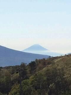 霧ケ峰から富士山