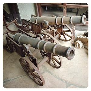 ロックハート敷地内・ビッグハートの大砲