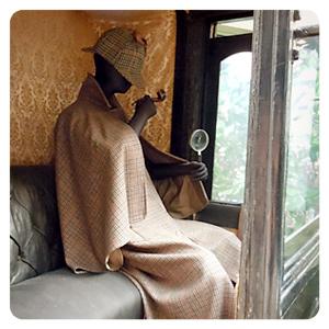 ロックハート敷地内・ビッグハートのホームズ馬車