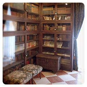 ロックハート城内・書斎