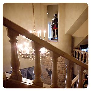 ロックハート城内・階段