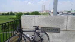 011新葛飾橋を千葉方面へ