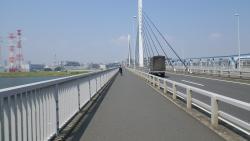 006清砂大橋で右岸へ