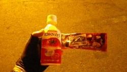 006トマトジュースと一本満足バー