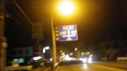008k105からK5を通りR17に上尾駅通過