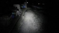010R17熊谷市、深谷市を進みます、ここで農道で照射テスト明るいですね