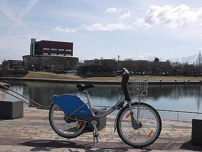 環水公園シクロ冬